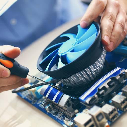 Riparazione, sostituzione e ampliamento componenti hardware