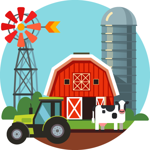 Servizi per sistemi agricoli (impianti di mungitura, impianti di irrigazione, rotopresse)